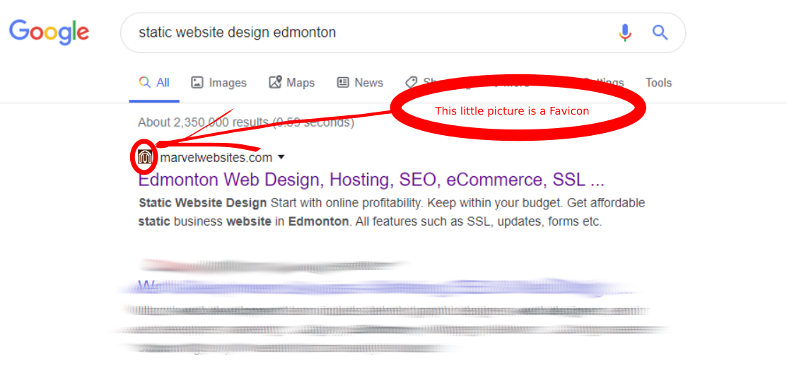 Importance of Favicon in Google Search Results